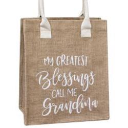 My Greatest Blessings Call Me Grandma Tote