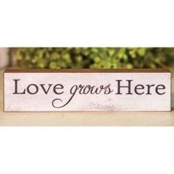 Love Grows Here Block