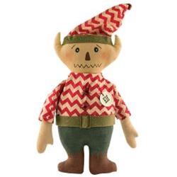 Chevron Elf Doll